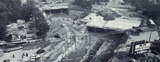 Construction Site of Metro Milan Line 1 1960s_web