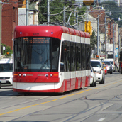 Toronto's new low-floor trams enter service